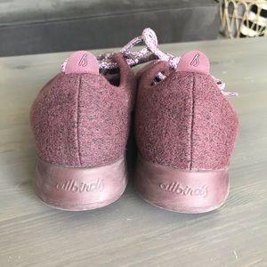 allbirds Shoes - Allbirds Maroon Red Wool Runner Sneaker Shoes 9